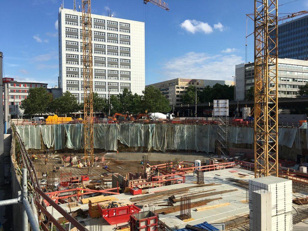 Bremen CityGate Baustelle