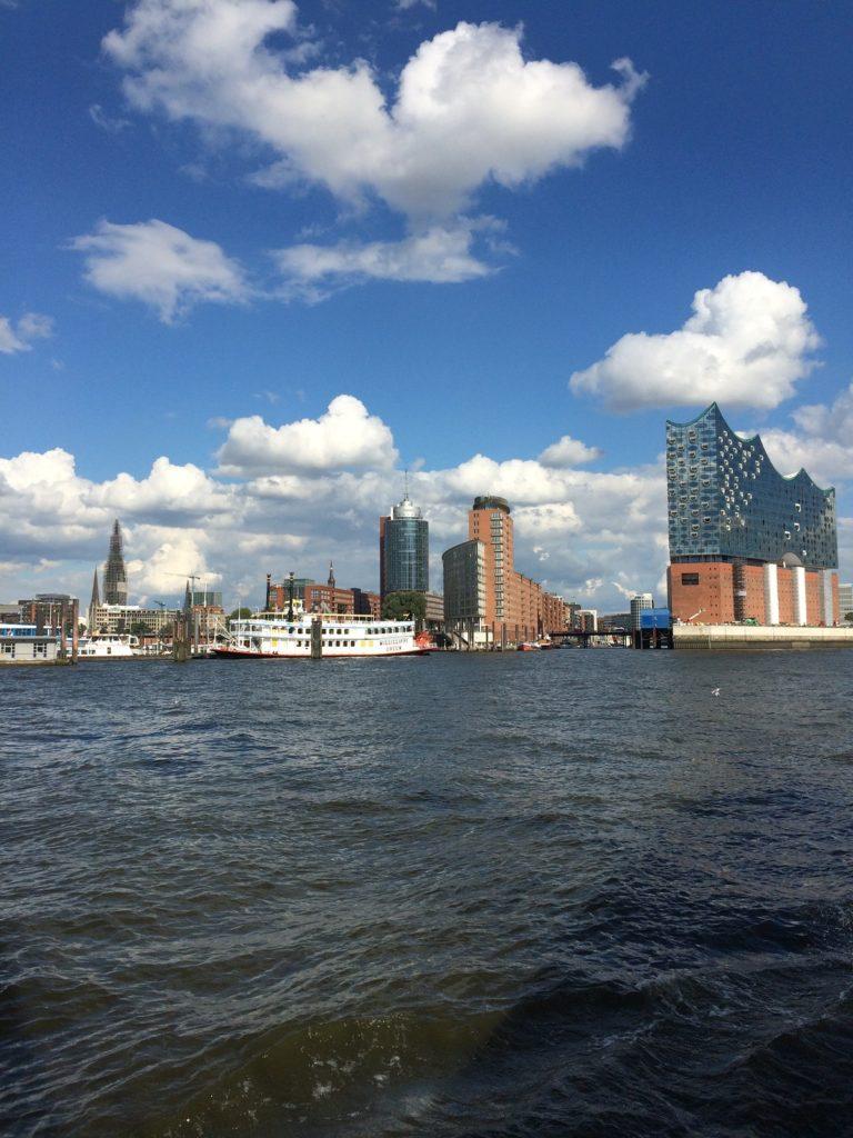 Hamburg Elb Philharmonie Wasserseitig